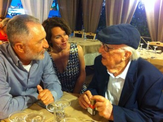 Montalbano tour: talking with Andrea Camilleri